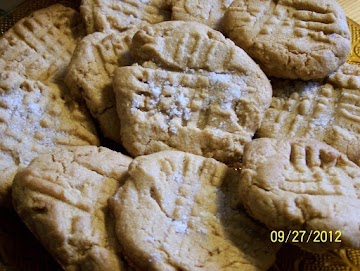 Poor Mans` Peanut Butter Cookies Recipe