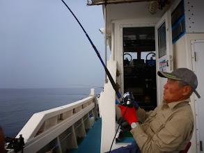 """Photo: """"あだちさん""""もヒットしましたが・・・サメに「パクリ」と獲られました。"""