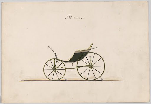 Design for Pony Phaeton, no. 3243
