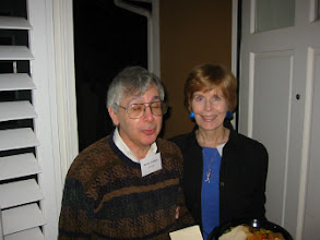 Photo: Professor Bernie Grofman and Sue Anderson-Grofman
