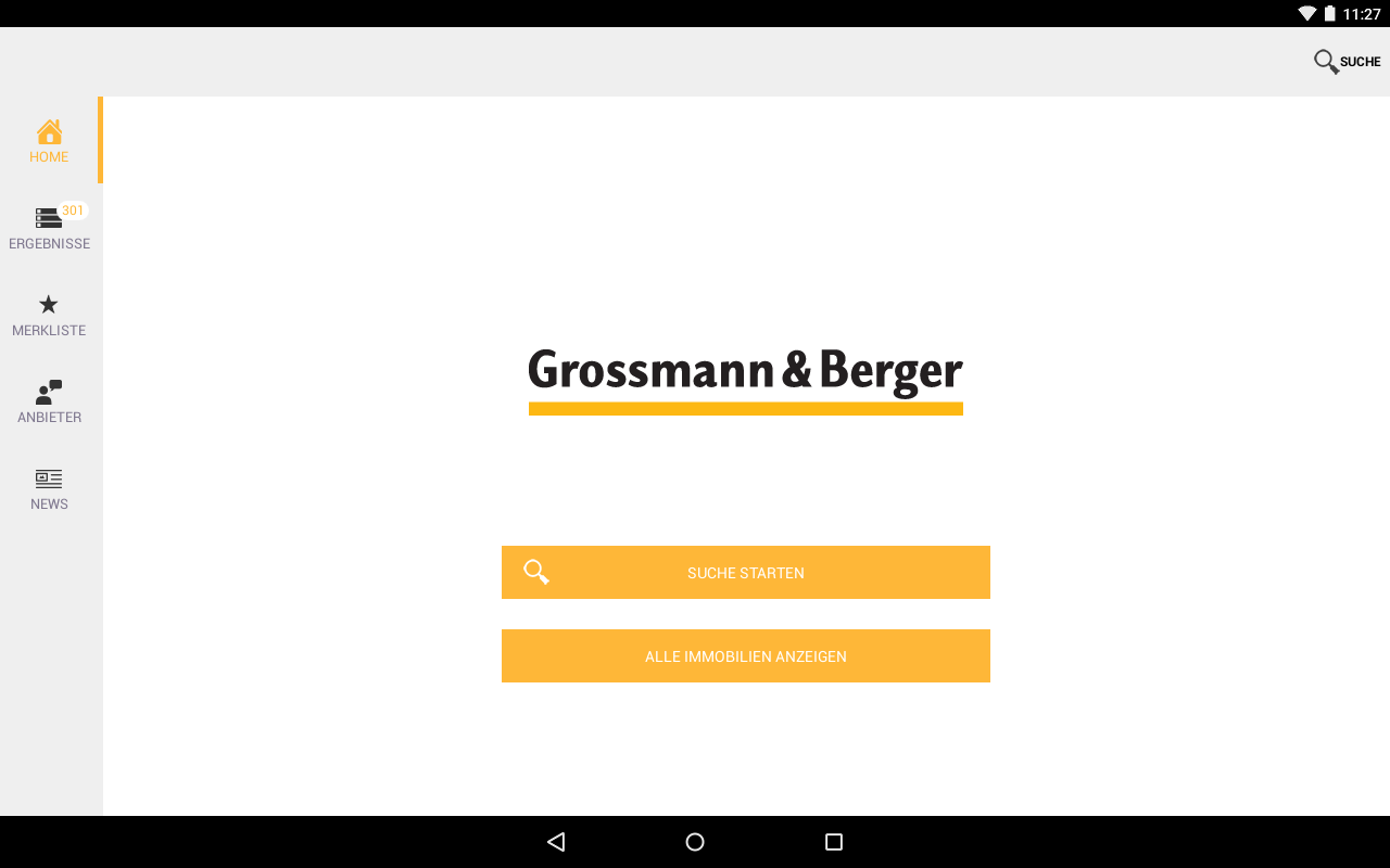 Grossmann & Berger- screenshot
