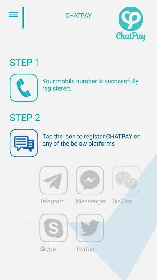 ChatPay- screenshot