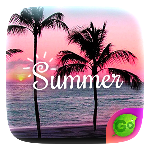 Summer GO Keyboard Theme 個人化 LOGO-玩APPs