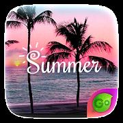Summer GO Keyboard Theme