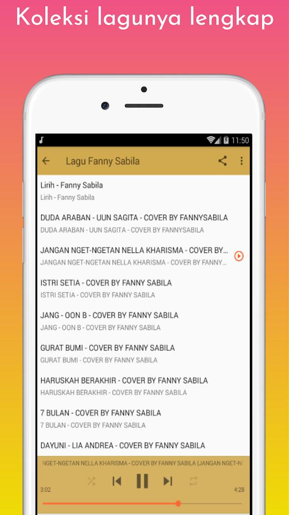 Lagu Fanny Sabila 1 0 Apk Download Com Larantidev Lgufannysabila Apk Free