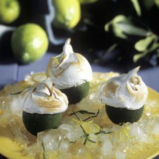 Lime Meringue Desserts.