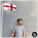 England Flag In Your picture : Photo Editor