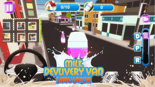 免費下載模擬APP|Milk Delivery Van Simulator 3D app開箱文|APP開箱王