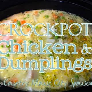 Crock-Pot Chicken Pot Pie.