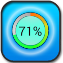 Battery stats and info icon
