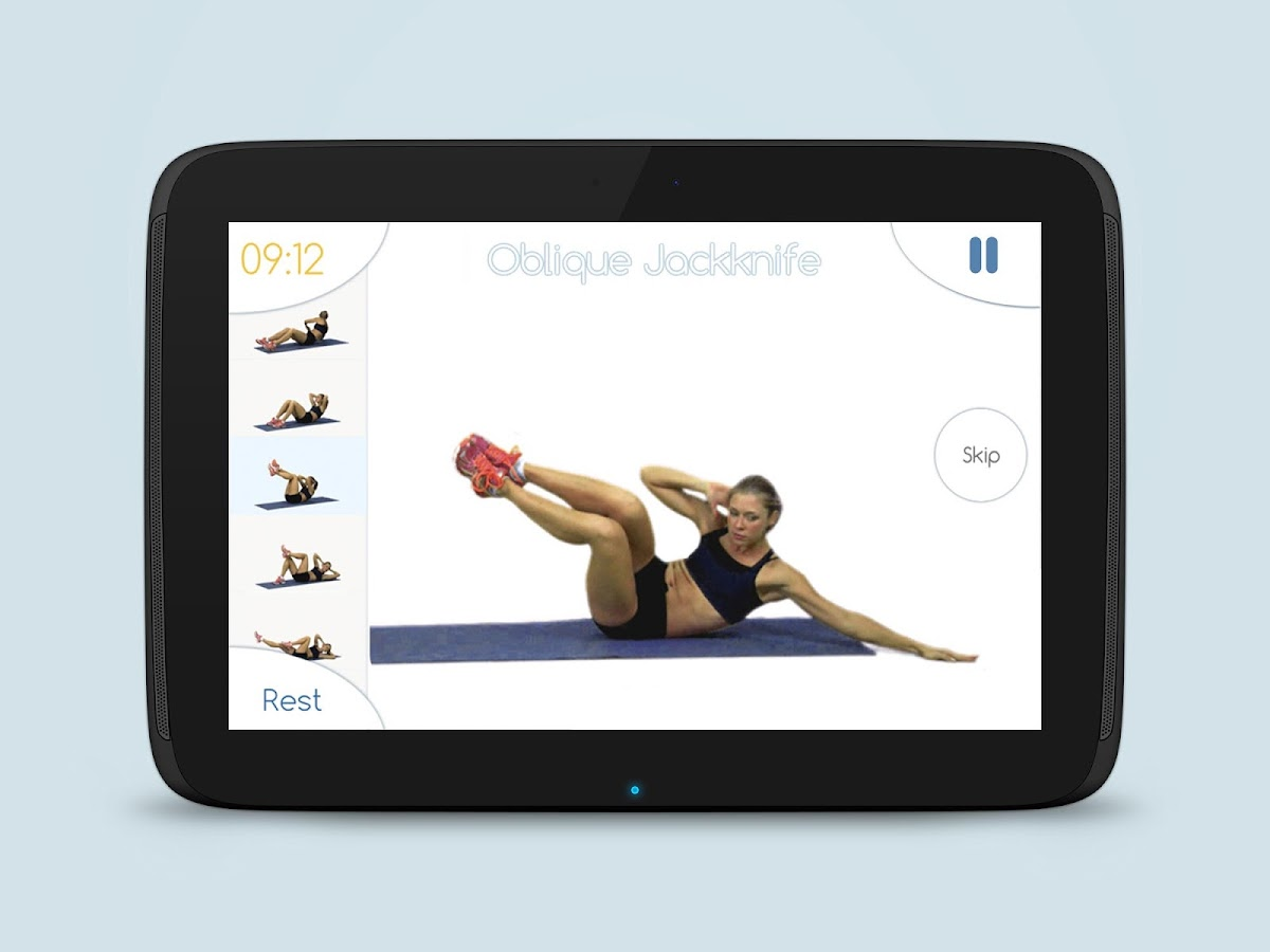 Best Abs Fitness: Core Abdominal Toned Abs Workout- screenshot