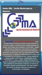 Gestão GMA - náhled