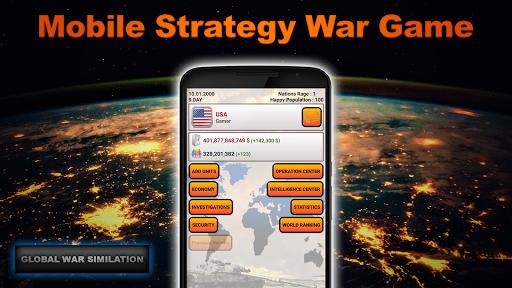 Télécharger Gratuit Global War Simulation WW2 Strategy War Game APK MOD (Astuce) screenshots 1