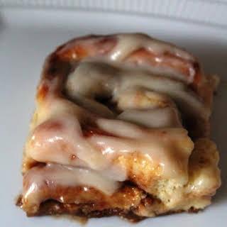 Buttery Cinnamon Rolls.