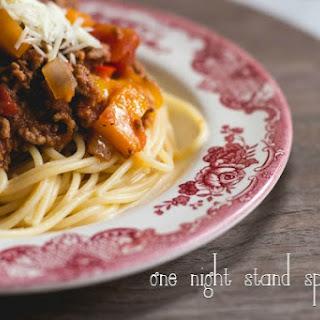 One Night Stand Spaghetti