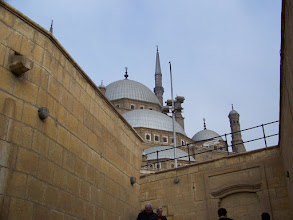 Photo: Big mosque inside the wall.