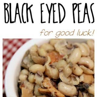 Simple Savory Black Eyed Peas.