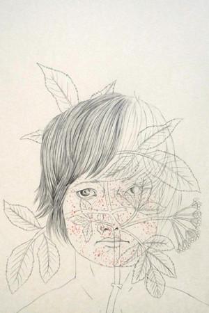 Delphine Vaute_Silent Botany, l'enfant