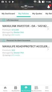 My Insurer - náhled