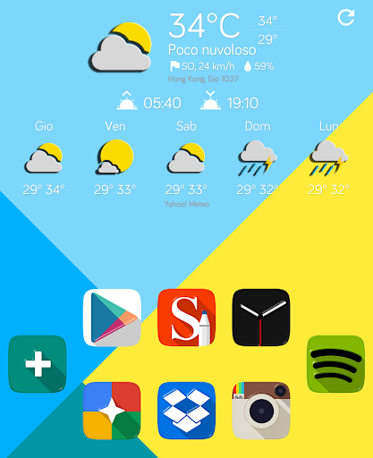Chronus - 3D Weather Now icons