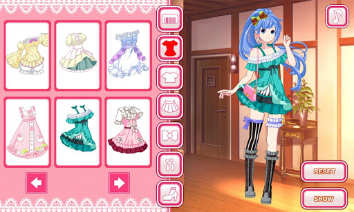 Anime dress up game 1.0.0 screenshots 12