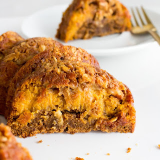 Gingerbread Pumpkin Pie Coffee Cake