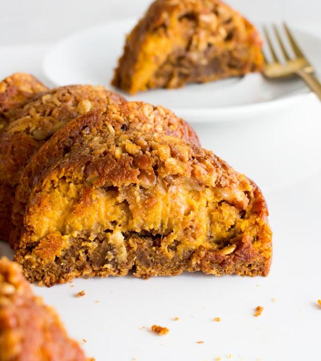 Gingerbread Pumpkin Pie Coffee Cake Recipe   Yummly
