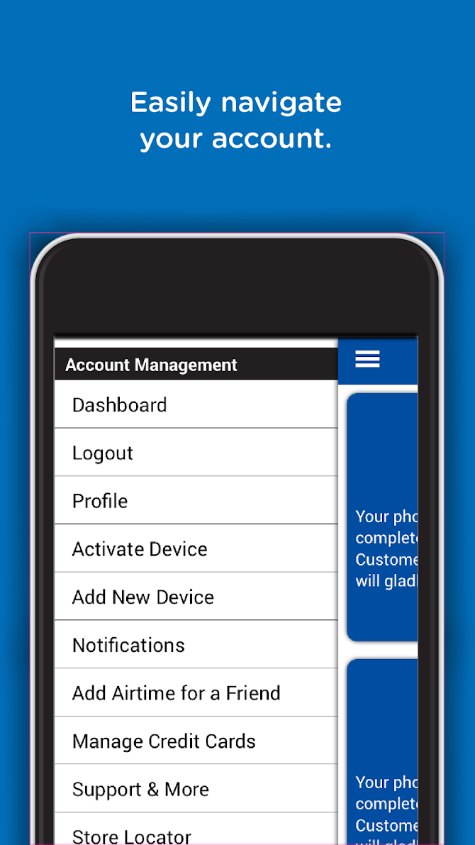 TracFone My Account Android 4