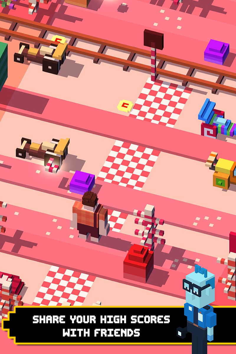 Disney Crossy Road screenshot #4