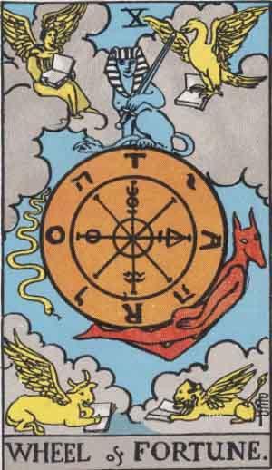 https://upload.wikimedia.org/wikipedia/en/3/3c/RWS_Tarot_10_Wheel_of_Fortune.jpg