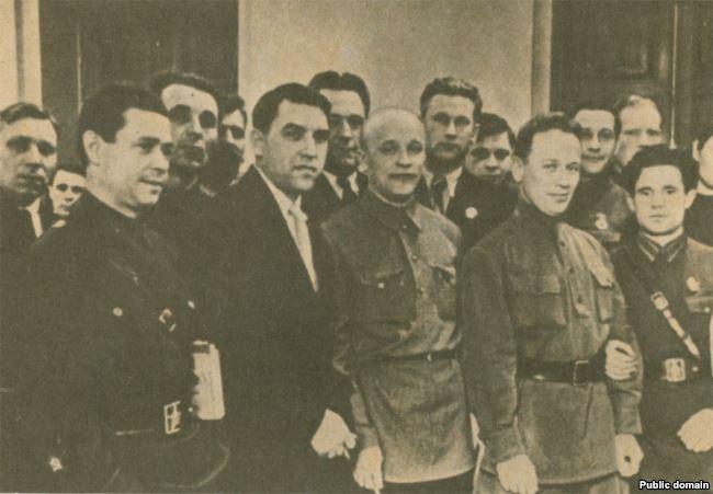 Группа делегатов XVIII съезда ВКП(б)