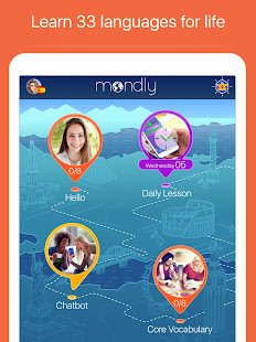 App Learn 33 Languages Free - Mondly APK for Windows Phone