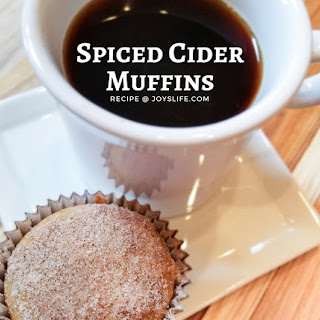 Spiced Cider Muffins Recipe