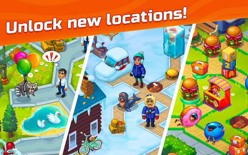 City Rescue Team: Time management game apkpoly screenshots 11
