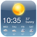 OS Style Daily live weather forecast download