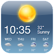 OS Style Daily live weather forecast APK