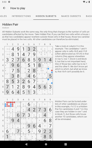 Sudoku - Free Tips & Tricks - screenshot