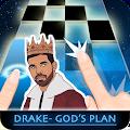Drake - Gods Plan Piano Tiles