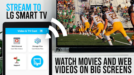 Video & TV Cast | LG Smart TV - HD Video Streaming - náhled