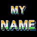 3D My Name India LWP Icon