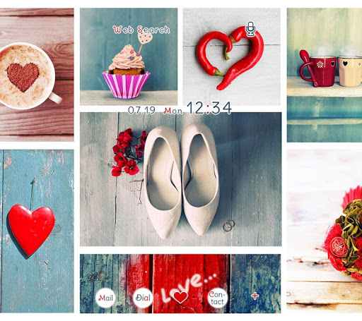 Love Collage +HOME Theme 1.0.0 Windows u7528 1