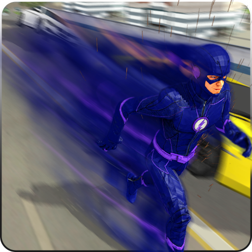 Super Light Speed Flash Superhero: Speed Hero