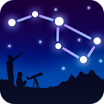 Stars in the Night Sky: Stargazing Icon