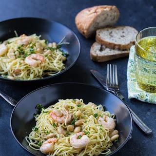Chutney Shrimp Pasta