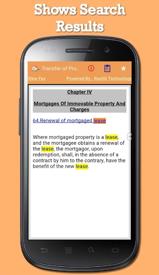 Transfer of Property Act 1882- screenshot