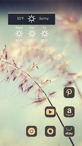 android Strange Shaped Flowers Screenshot 1
