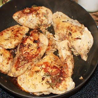 Pan Fried Chicken With Butter Recipes.