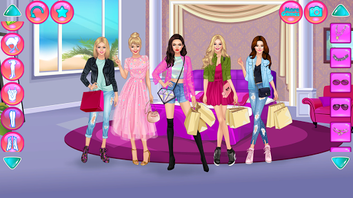 Girl Squad Fashion - BFF Fashionista Dress Up apkpoly screenshots 9