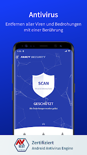 Fancy Security - Virenschutz und Cleaner Screenshot