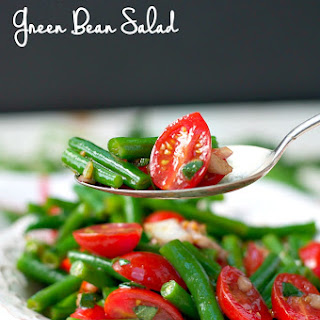 Simple Italian Green Bean Salad